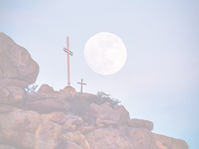 Moon and Sandia Crosses